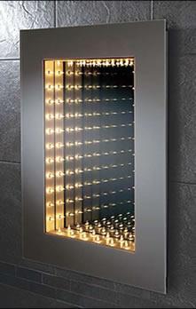 Attrayant LED Battery Mirror, LED Battery Bathroom Mirrors U2013 Illuminated Mirrors UK